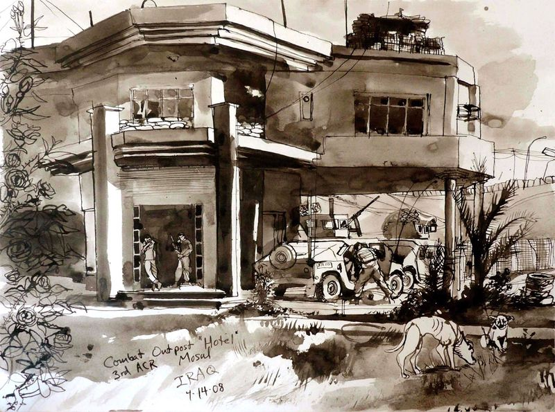 Mosul Journal - Combat Outpost Hotel