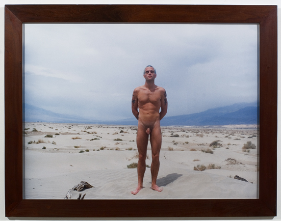 #88C Untitled (Death Valley Self Portrait)