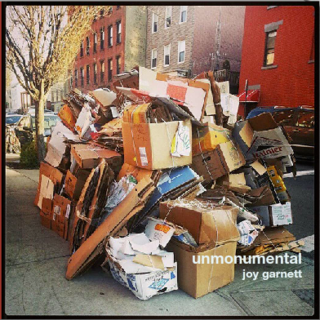 Unmonumental book cover