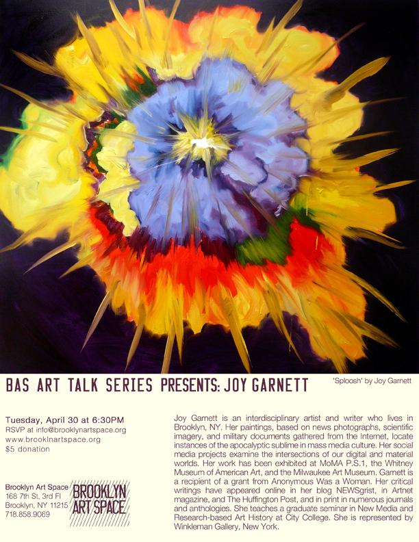 BAS - joy garnet art talk