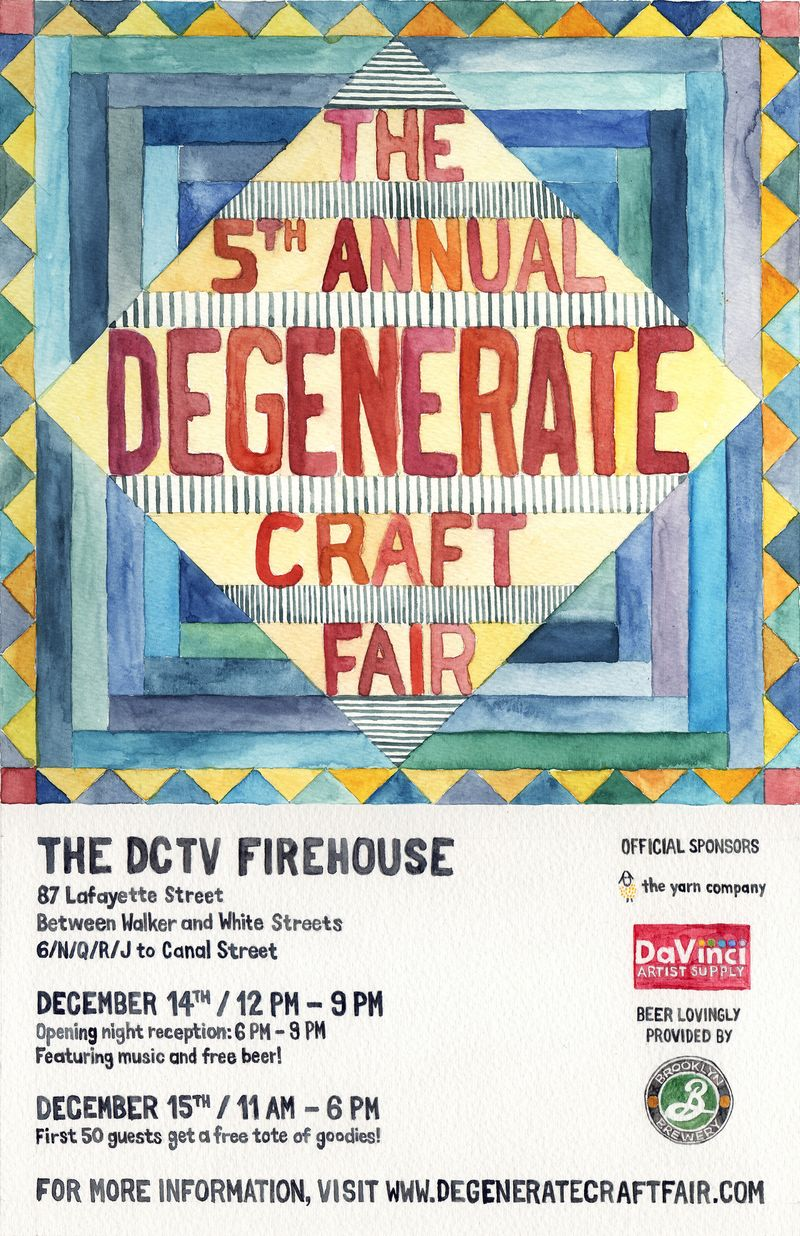 Newsgrist Where Spin Is Art The Degenerate Craft Fair