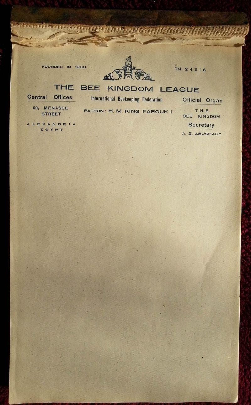 BKL pad - letterhead