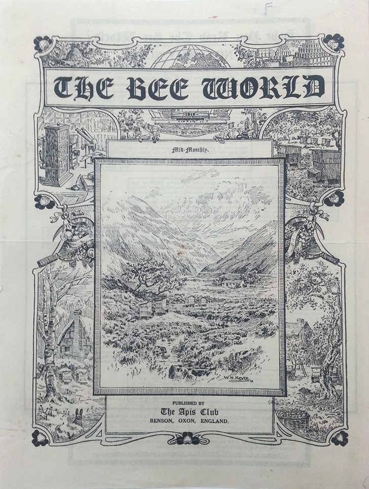 Bee-World-1919-cover