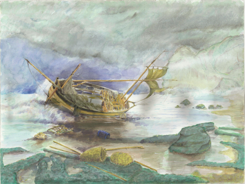 02-Ameziane Shipwrecked Boat