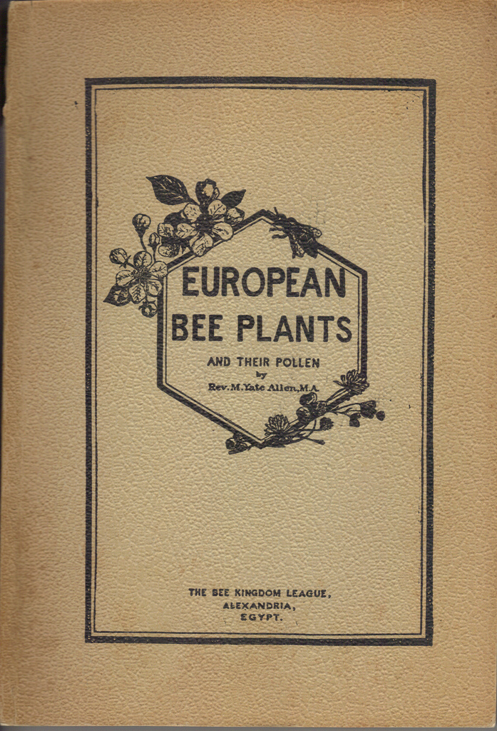 European Bee Plants-cover-front