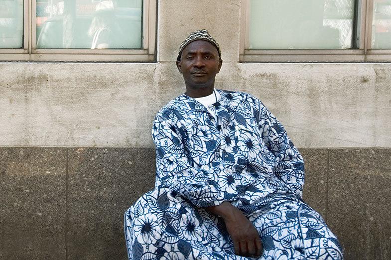 Africanstreetvendor