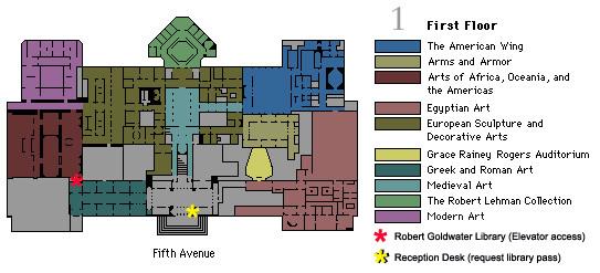 Robert Goldwater Library Floor Plans