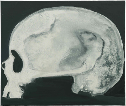 marlene dumas skull of a woman 2005 collection of de bruin heijn